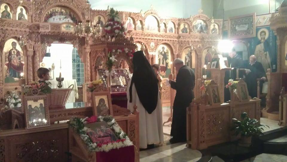 Feast Day of Dormition of the Theotokos Church 2014