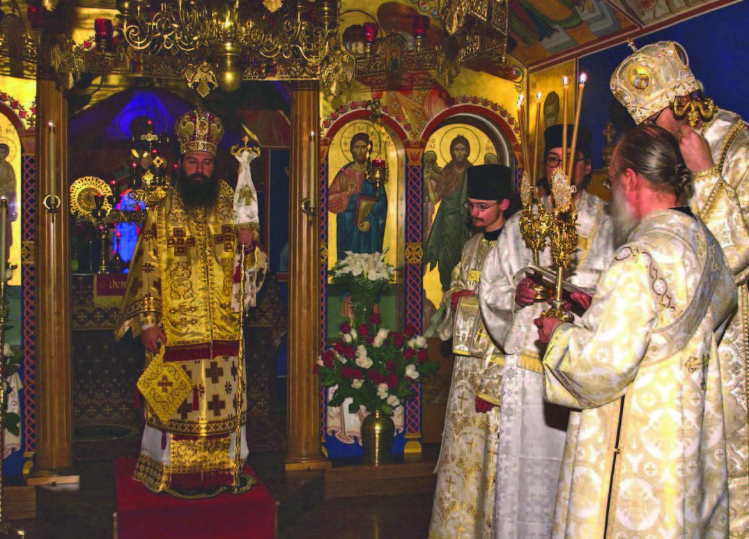 Enthronement of His Grace, Bishop Auxentios of Etna and Portland
