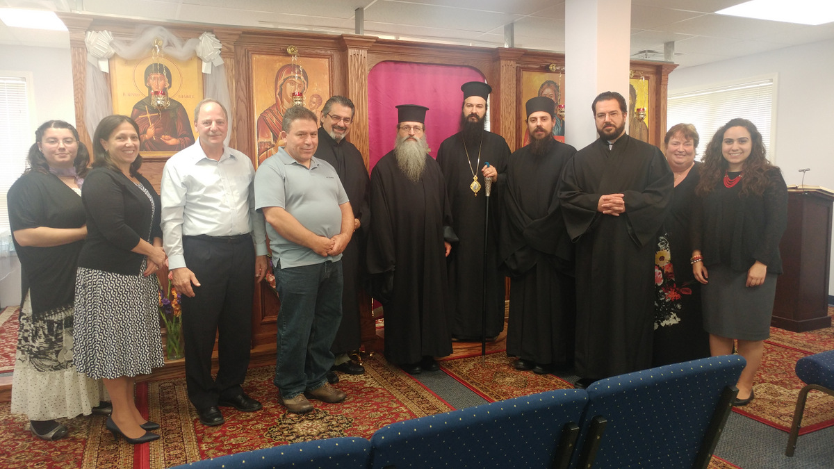 Visit of Metropolitan Demetrius to St Irene Chrysovalantou in Michigan 2016