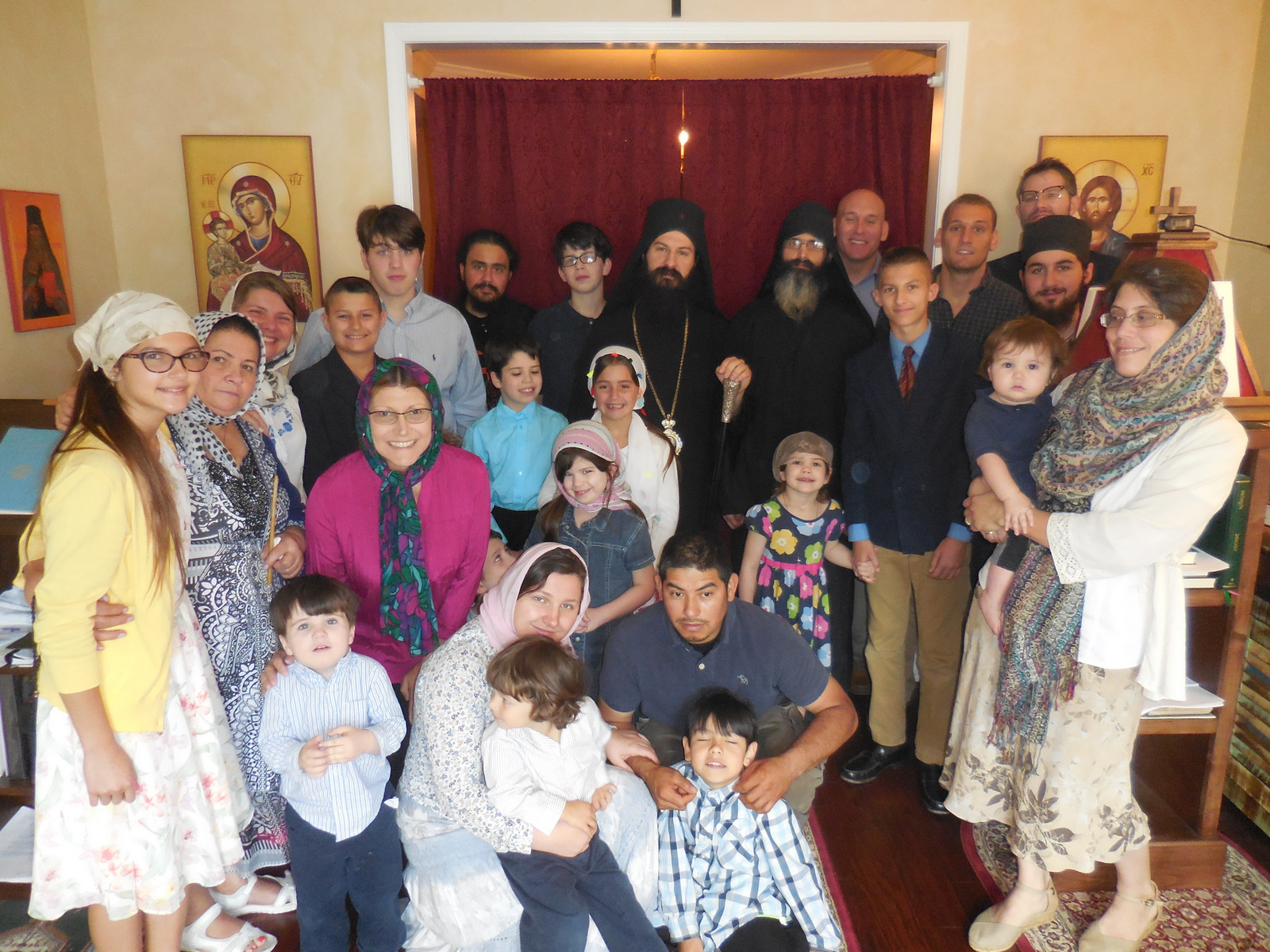 Visit of Metropolitan Demetrius to St Theophan the Recluse Mission in Atlanta, GA 2017