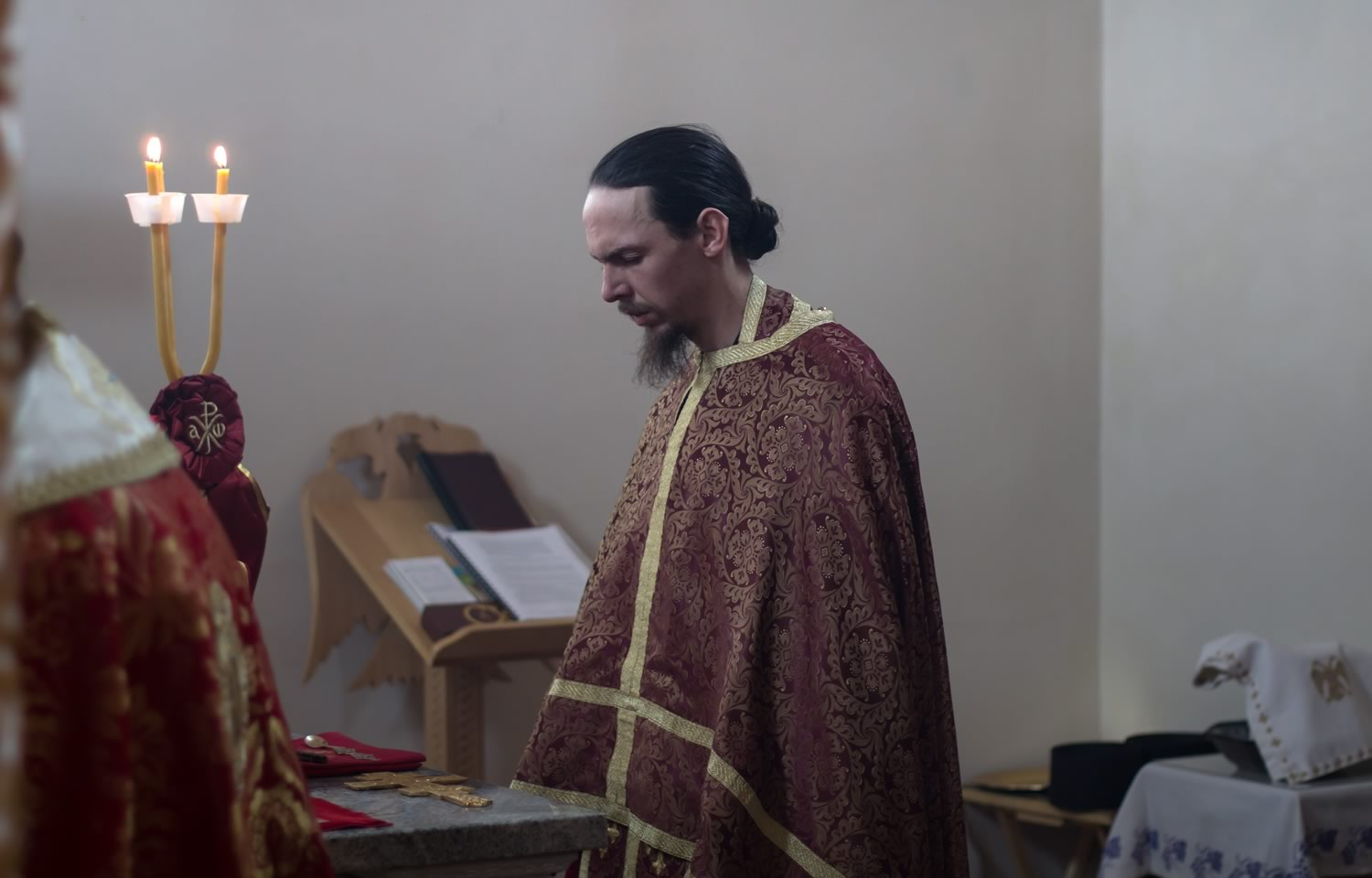 Hierodeacon Joachim Ordained to the Holy Priesthood